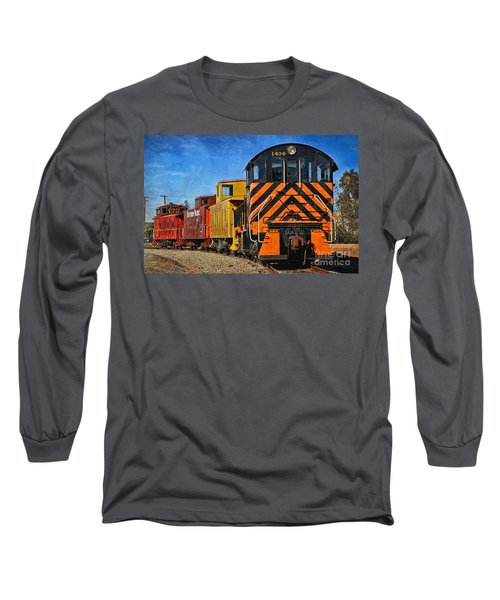 On The Tracks Long Sleeve T-Shirt by Peggy Hughes
