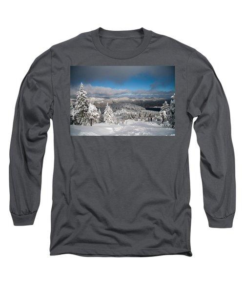 on the Wurmberg II Long Sleeve T-Shirt