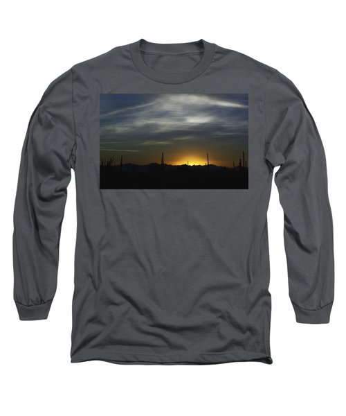 Once Upon A Time In Mexico Long Sleeve T-Shirt by Lynn Geoffroy