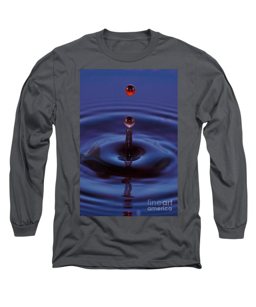 One Drop One Splash Long Sleeve T-Shirt by Patrick Shupert