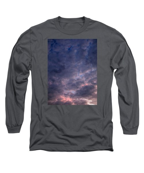 Long Sleeve T-Shirt featuring the photograph Finally It Rained In Texas by Connie Fox