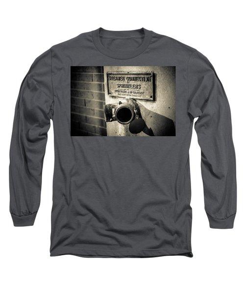 Open Sprinkler Long Sleeve T-Shirt by Melinda Ledsome