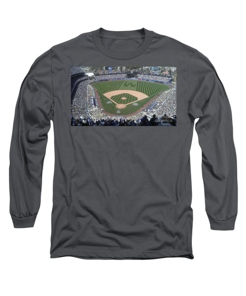 Opening Day Upper Deck Long Sleeve T-Shirt by Chris Tarpening