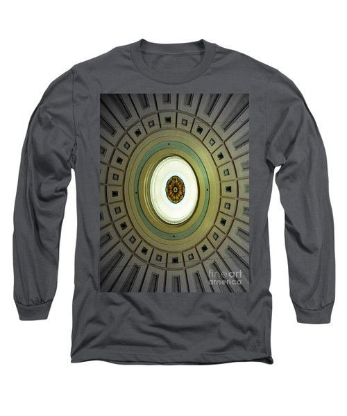 Optical Illusion  Long Sleeve T-Shirt by Kevin Fortier