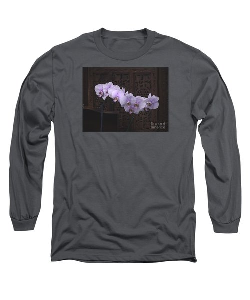 Long Sleeve T-Shirt featuring the photograph Orchids Loretta by The Art of Alice Terrill