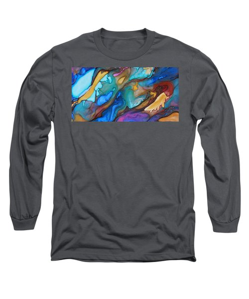 Organic Long Sleeve T-Shirt by Angel Ortiz