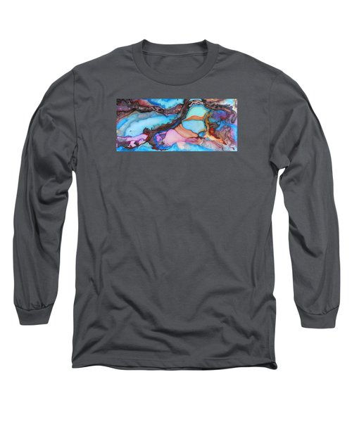 Organico Xvll Long Sleeve T-Shirt by Angel Ortiz