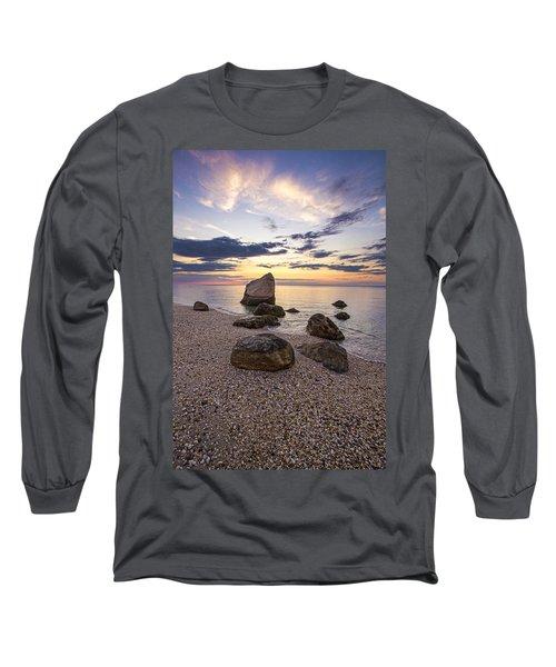 Orient Point Calm Long Sleeve T-Shirt