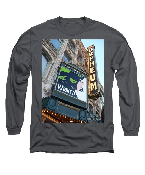 Orpheum Sign Long Sleeve T-Shirt