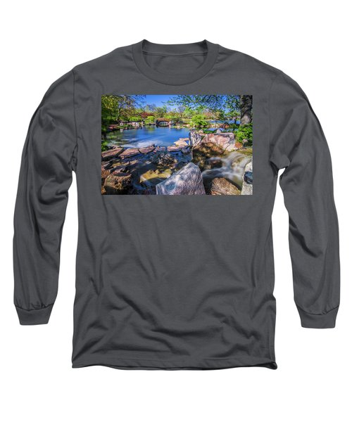 Osaka Japanese Garden Long Sleeve T-Shirt