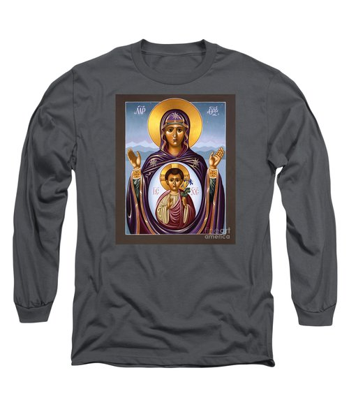 Our Lady Of The New Advent Gate Of Heaven 003 Long Sleeve T-Shirt by William Hart McNichols