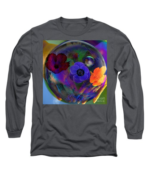 Our Nature Of Love Long Sleeve T-Shirt by Joseph Mosley