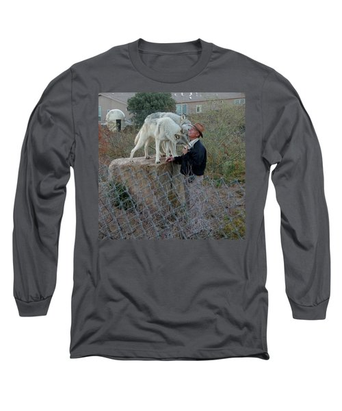 Out Of Africa  Friendly Wolves Long Sleeve T-Shirt