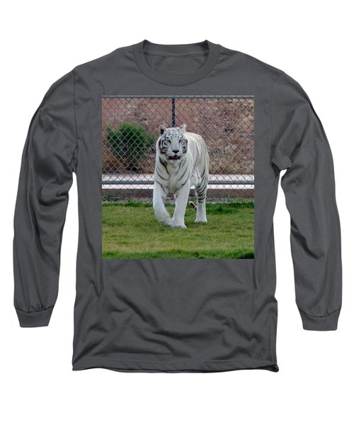 Out Of Africa White Tiger Long Sleeve T-Shirt