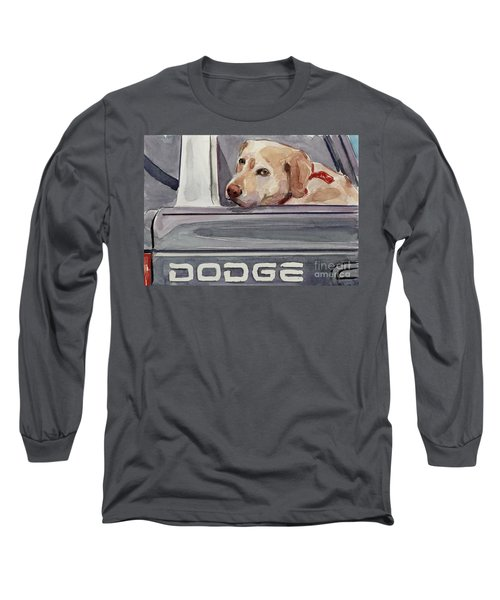 Out Of Dodge Long Sleeve T-Shirt by Molly Poole