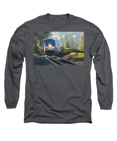 Out Of The Mist Long Sleeve T-Shirt by Jim Thompson