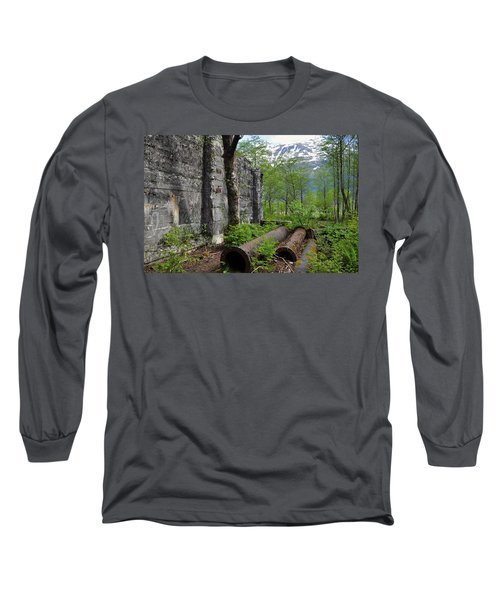 Long Sleeve T-Shirt featuring the photograph Out From The Past by Cathy Mahnke