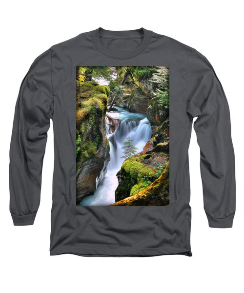 Out On A Ledge Long Sleeve T-Shirt