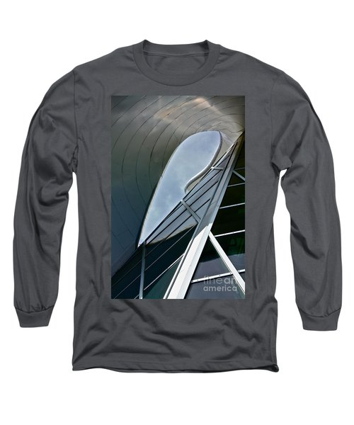 Outer Space Long Sleeve T-Shirt by Linda Bianic