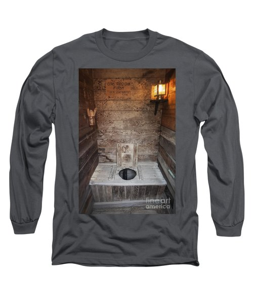 Outhouse Interior Long Sleeve T-Shirt
