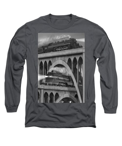 Over And Under Long Sleeve T-Shirt