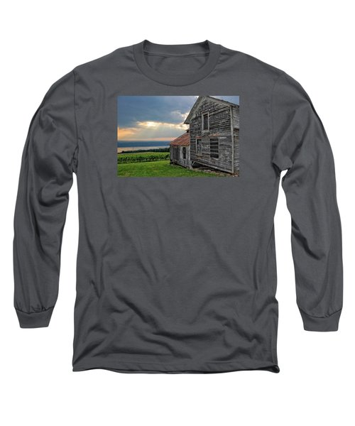 Over The Field Long Sleeve T-Shirt