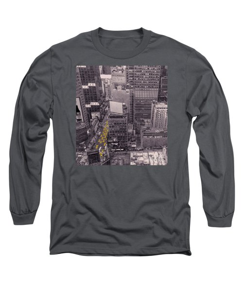 Overwhelm Me New York  Long Sleeve T-Shirt