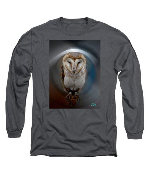 Owl Alba  Spain  Long Sleeve T-Shirt by Colette V Hera  Guggenheim