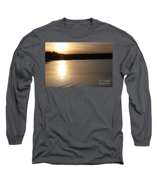 Long Sleeve T-Shirt featuring the photograph Oyster Bay Sunset by John Telfer