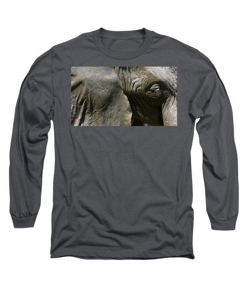 Long Sleeve T-Shirt featuring the photograph Pachyderm by Jennifer Wheatley Wolf