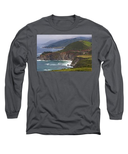 Pacific Coast View Long Sleeve T-Shirt