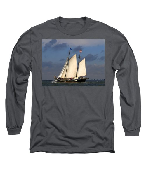 Paint Sail Long Sleeve T-Shirt