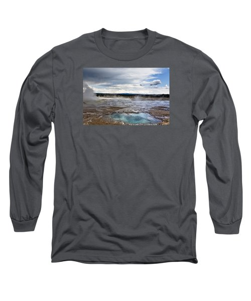 Long Sleeve T-Shirt featuring the photograph Paint Pots by Belinda Greb