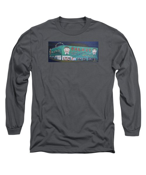 Long Sleeve T-Shirt featuring the painting Palace 2013 by Patricia Arroyo