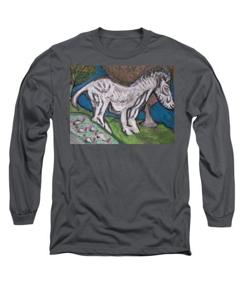 Out There Alone. Long Sleeve T-Shirt by Jonathon Hansen