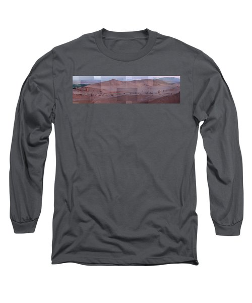 Palmyra Syria Valley Of The Tombs Long Sleeve T-Shirt