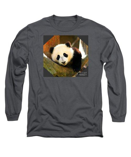 Panda Bear Baby Love Long Sleeve T-Shirt
