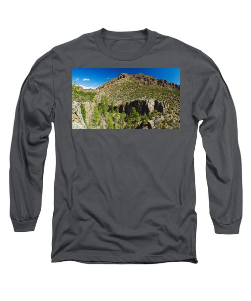 Panorama Of Dome Wilderness, San Miguel Long Sleeve T-Shirt