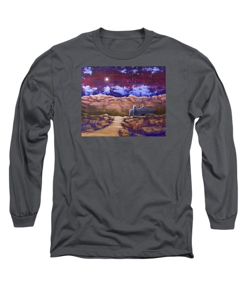 Paper Moon Long Sleeve T-Shirt by Jack Malloch