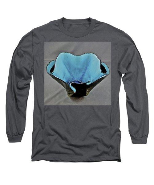 Paper-thin Bowl  09-002 Long Sleeve T-Shirt by Mario Perron