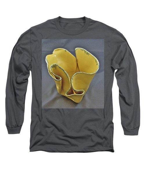 Paper-thin Bowl  09-004 Long Sleeve T-Shirt by Mario Perron