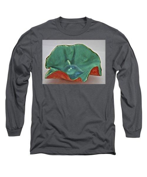 Paper-thin Bowl  09-007 Long Sleeve T-Shirt by Mario Perron