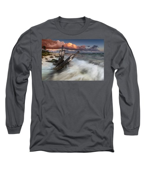 Long Sleeve T-Shirt featuring the photograph Paradise Lost by Mihai Andritoiu
