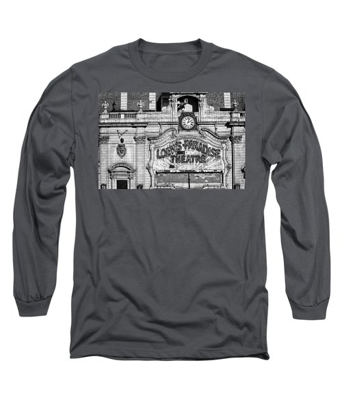 Paradise Movie Theatre Long Sleeve T-Shirt