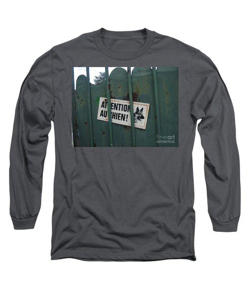 Paris - Farm Dog Long Sleeve T-Shirt