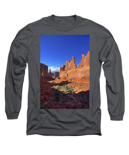Park Avenue Sunset Long Sleeve T-Shirt by Alan Vance Ley