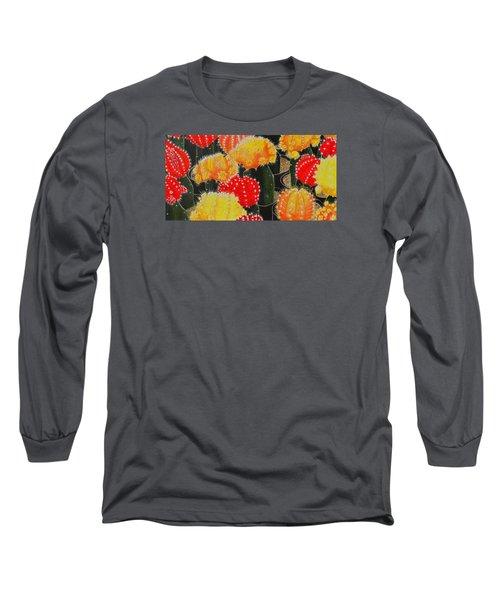 Party Girls Long Sleeve T-Shirt by Donna  Manaraze