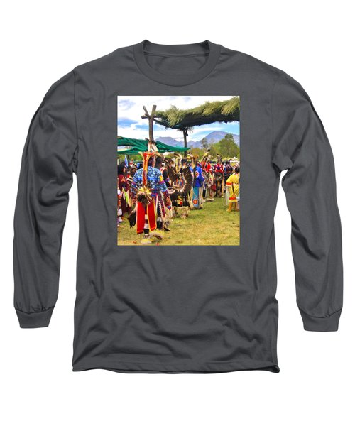 Party Time Long Sleeve T-Shirt by Marilyn Diaz