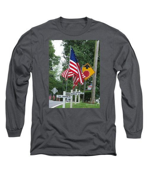 Past Heros Long Sleeve T-Shirt by Marilyn Zalatan