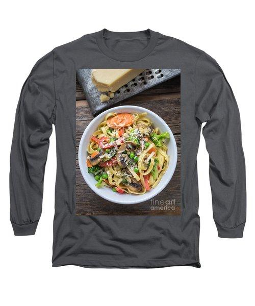 Pasta Primavera Dish Long Sleeve T-Shirt